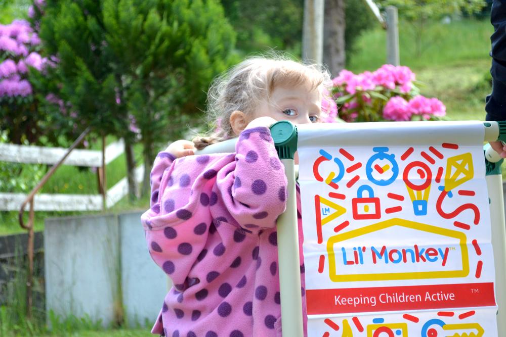 Lil Monkey Klettergerüst : Kletterspaß im eigenen garten der dome climber von lil´ monkey