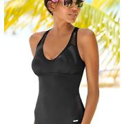 sunseeker Badeanzug mit Mesh-Einsatz