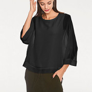 Blusenshirt Two-in-One-Look