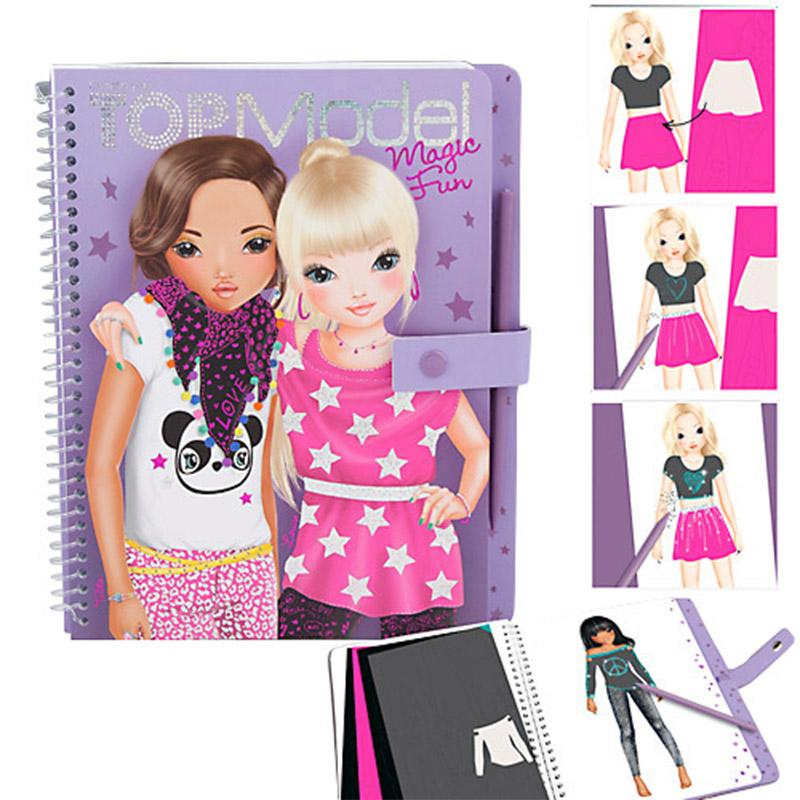 Top Model Magic Fun Malbuch - Der Lifestyle-Mutter BlogDer Lifestyle ...