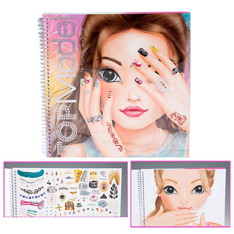 Top Model Hand Designer Malbuch - Der Lifestyle-Mutter BlogDer ...