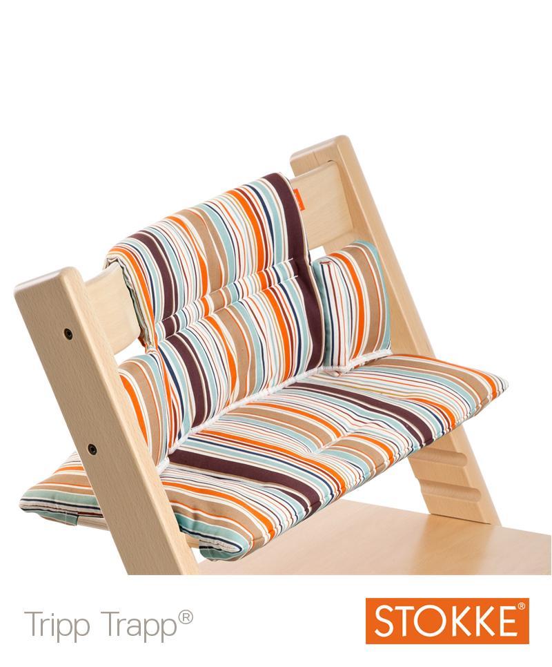 stokke tripp trapp sitzkissen signature streifen der lifestyle mutter blogder lifestyle. Black Bedroom Furniture Sets. Home Design Ideas