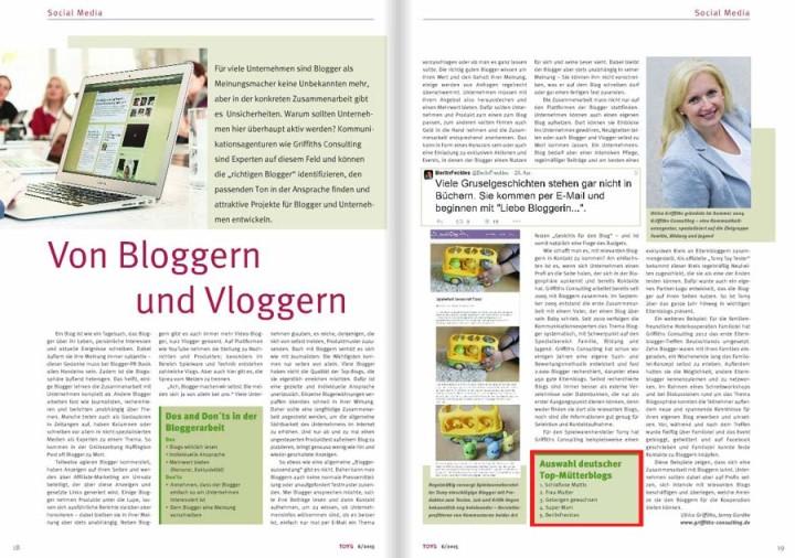 Platz 1 der deutschen Mütterblogs