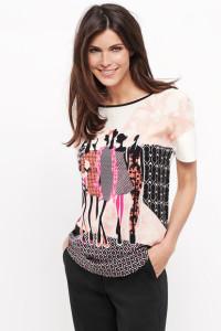 Das 1/2 Arm Shirt mit wunderschönen Ladies auf dem Vorderteil ist ein Hingucker!