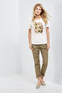 Klar durch die Brille gesehen: toptrendiges 1/2 Arm Shirt aus haufreundlicher Stretchbaumwolle.