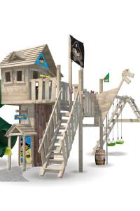 Baumhaus aus Holz Wickey NeverLand. Dies ist eines der Top Modelle von Wickey mit vielen innovativen Ideen. Ein Muss gegen Langeweile! Jetzt Kaufen!