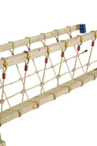 Das Jungle Gym Blue Rabbit® Bridge Baupaket enthält alle benötigten Zubehörteile zum Selbstbau einer Brücke zwischen 2 Spieltürmen. Super Online-Angebote!