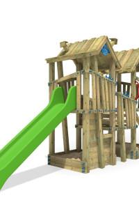 Öffentlicher Spielturm GIANT Mansion. Hochwertige Klettertürme aus eigener Herstellung. EN 1176 zertifiziert. Mehr Spieltürm im Wickey-Shop. Greifen Sie zu!