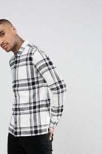 AllSaints - Kariertes Hemd - Beige - Farbe:Beige