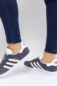 adidas Originals - Gazelle - Sneaker in Dunkelgrau - Grau - Farbe:Grau