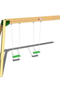 Kinderschaukel Hy Land ist die ideale Ergänzung zu den Hy Land Spieltürmen. Große Auswahl an Spieltürmen