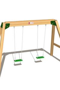 Wickeys öffentliche Kinderschaukel Hy Land ist die ideale Ergänzung zu unseren Hy Land Spieltürmen. Eine große Auswahl an Spieltürmen finden Sie im Shop!