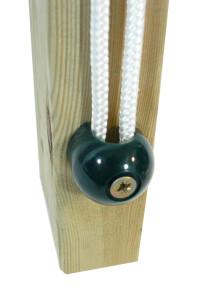 Das Wickey Fahnen-System ist ein schöner Zusatz für Ihren Spielturm