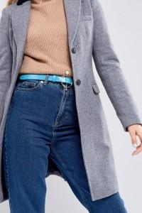 ASOS - Hüft- und Taillengürtel mit Ring- und Steg-Perlenverzierung - Blau - Farbe:Blau