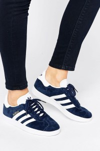 adidas Originals - Gazelle - Sneaker aus Wildleder in Marineblau - Navy - Farbe:Navy