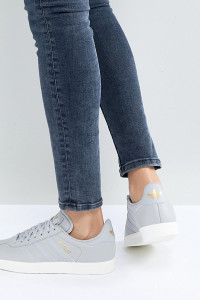 adidas Originals - Gazelle - Sneaker in Blassgrau - Grau - Farbe:Grau