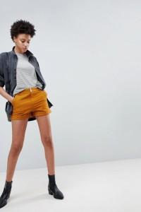 ASOS - Cargo-Shorts aus Leinen in Tabak - Braun - Farbe:Braun