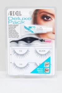 Ardell - Lashes Deluxe Kit 110 - Schwarz - Farbe:Schwarz