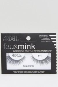 Ardell - Lashes Faux Mink 811 - Wimpern - Schwarz - Farbe:Schwarz
