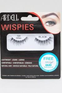 Ardell - Lashes Wispies 120 - Wimpern - Schwarz - Farbe:Schwarz