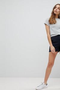 ASOS - Marineblaue Chino-Shorts - Blau - Farbe:Blau