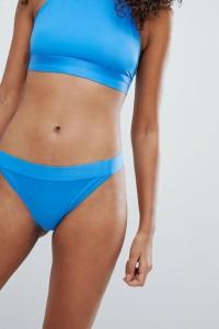 Weekday - Bikini-Hose - Blau - Farbe:Blau