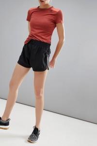 adidas Training - Schwarze Shorts mit Logo - Schwarz - Farbe:Schwarz