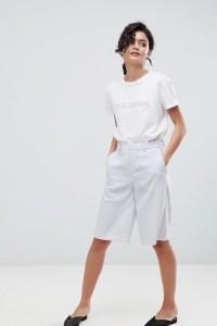 2NDDAY - Taillierte City-Shorts - Grau - Farbe:Grau