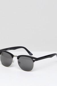 ASOS - Classic - Retro-Sonnenbrille - Schwarz - Farbe:Schwarz