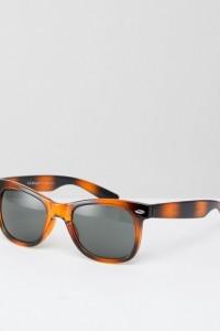 AJ Morgan - Hey Ya - Eckige Sonnenbrille in Schildpatt - Braun - Farbe:Braun