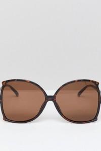 7X - Oversize-Sonnenbrille - Braun - Farbe:Braun