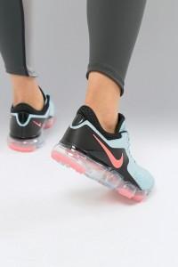 Nike Air - Vapormax - Netz-Sneaker in Blau - Blau - Farbe:Blau
