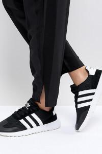 adidas Originals - FLB Runner - Sneaker in Schwarz - Schwarz - Farbe:Schwarz