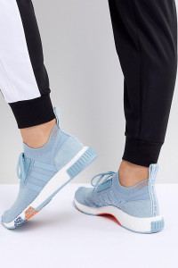 adidas Originals - NMD Racer - Blaue Sneaker - Blau - Farbe:Blau