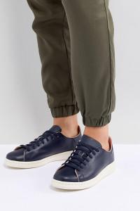adidas Originals - Decon Stan Smith - Sneaker aus Leder in Marine - Schwarz - Farbe:Schwarz