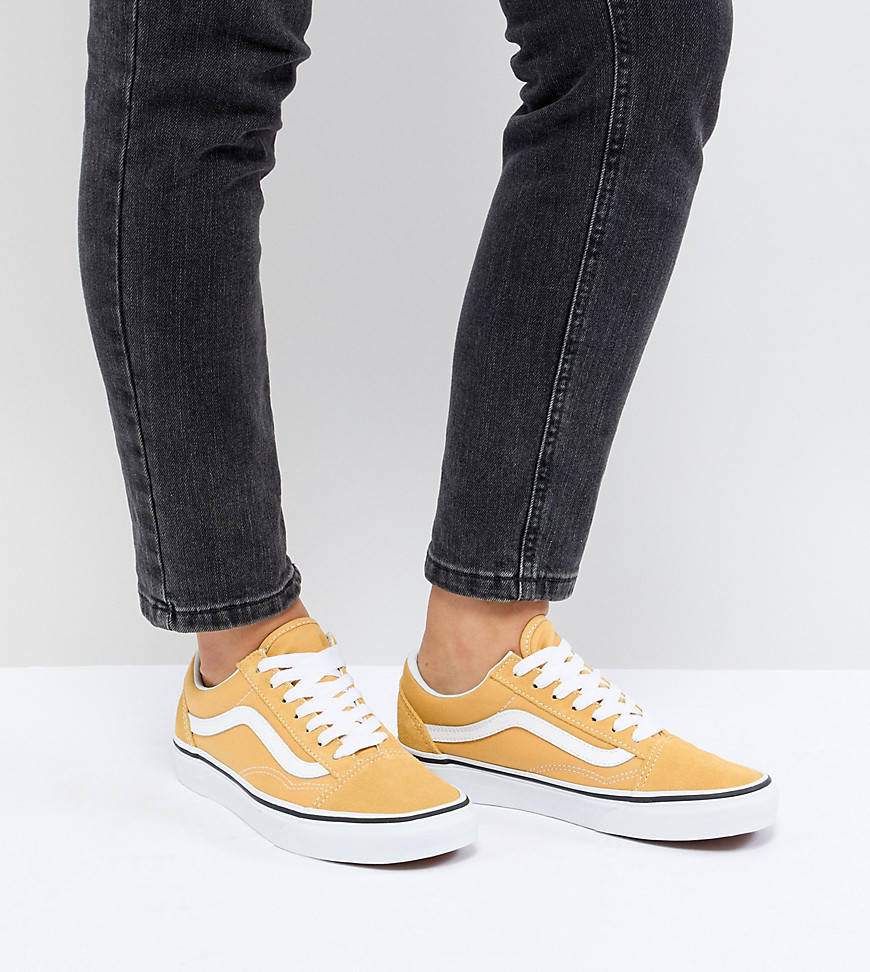 vans old skool damen gelb