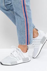adidas Originals - NMD R1 - Sneaker in Weiß - Weiß - Farbe:Weiß