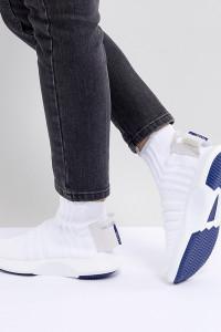 adidas Originals - Crazy 1 Adv Sock - Weiße Sneaker mit Primeknit-Obermaterial - Weiß - Farbe:Weiß