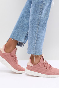 adidas Originals - Pharrell Williams Tennis Hu - Rosa Tennisschuhe - Rosa - Farbe:Rosa