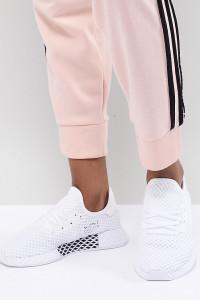 adidas Originals - Deerupt - Weiße Sneaker - Weiß - Farbe:Weiß