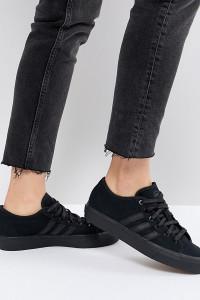 adidas - Skate Boarding Matchcourt Rx Triple - Schwarze Sneaker - Schwarz - Farbe:Schwarz