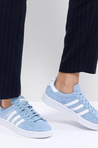 adidas Originals - Campus - Sneaker in Blau - Blau - Farbe:Blau