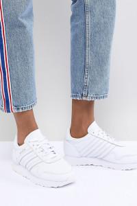 adidas Originals - Made In Germany - Haven - Hochwertige Sneaker aus weißem Leder - Weiß - Farbe:Weiß