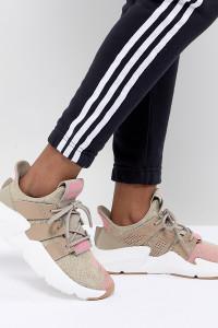 adidas - Originals Prophere - Sneaker in Beige und Rosa - Beige - Farbe:Beige