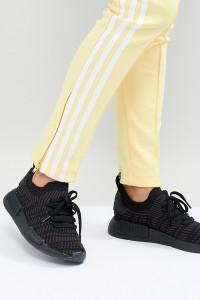 adidas Originals - NMD R1 - Sneaker in Schwarz - Schwarz - Farbe:Schwarz