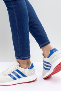 adidas - Originals I-5923 Runner - Sneaker in Grau und Blau - Grau - Farbe:Grau
