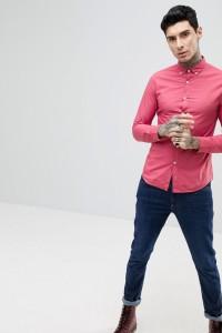 Farah - Farley - Schmal geschnittenes Hemd mit Knopfleiste