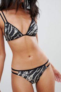 AllSaints - Katoi - Bikinihose - Schwarz - Farbe:Schwarz
