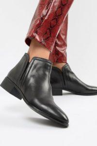 ALDO - Gweria - Flache Stiefel aus Leder - Schwarz - Farbe:Schwarz