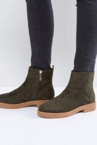 ASOS - ARCH - Ankle-Boots - Grün - Farbe:Grün